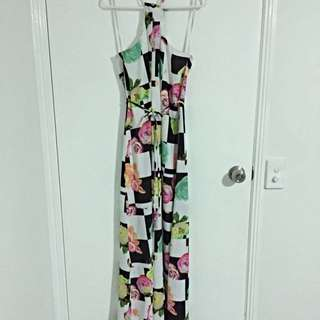 Minti Meet Munt Maxi Dress