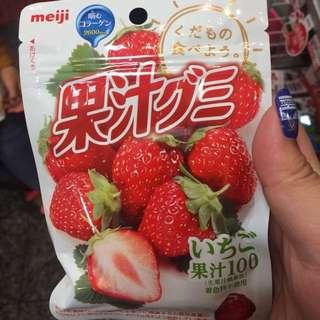 Meiji100%果汁軟糖 ✨✨✨