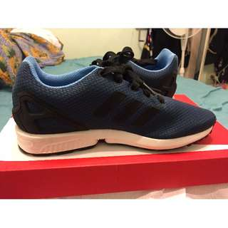 Navy Adidas ZX Flux