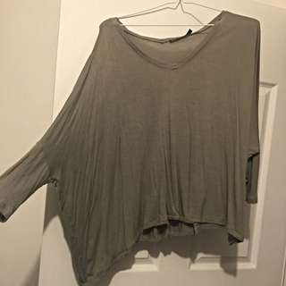 Relaxed Long Sleeved Top