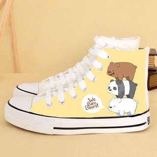 We Bare Bears Hand Painted Shoes