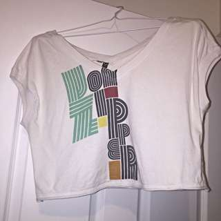 Short T Sleeve Crop