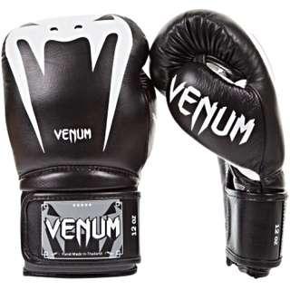 VENUM - Giant 3.0 Boxing Gloves (黑白)拳擊手套 蟒蛇