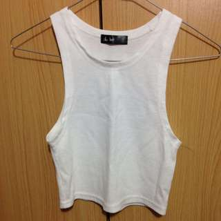 Chicabooti White Crop Top