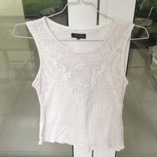 NEW LOOK basic white top