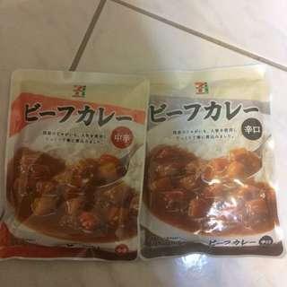 7-11咖喱調理包