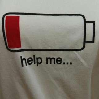 電池情侶短袖T恤 極新 無髒污