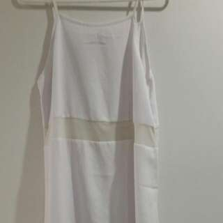 Short Mesh Centre Dress