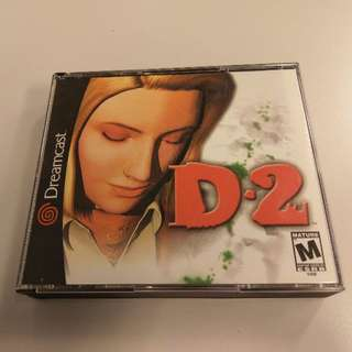 D2 - US version (SEGA Dreamcast)