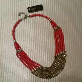 Collette Red Bead Necklace