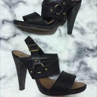 Black Orbit Heels