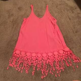 Pink Bam Bam Top