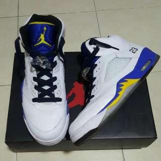 Air Jordan 5 Retro White