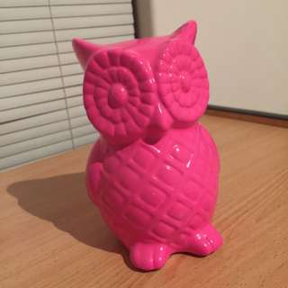 Pink owl - TYPO