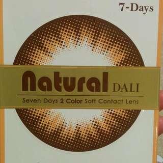 Brown 7day Bi-colour Contact Lenses (Korea)