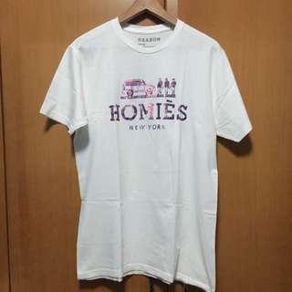 BN Homies New York Reason White Tshirt