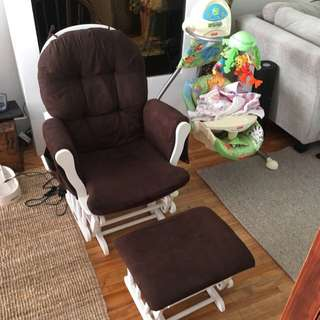Rocking Chair W/ Glider
