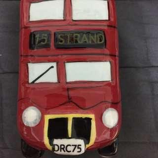 英國巴士存錢筒