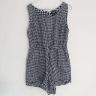 Noughts and Crosses playsuit