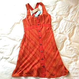 Orange Toned Dress