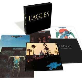 [Rare Vinyl] Eagles The Studio Albums 1972-1979