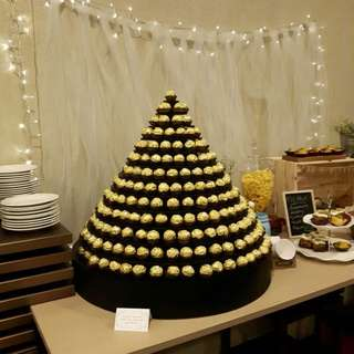 FOR RENT: 13 Tier Ferrero Rocher Chocolate Stand