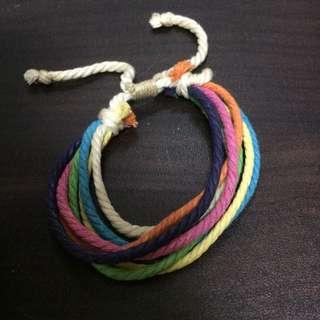彩色個性手環