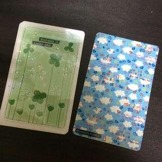悠遊卡等等卡片貼紙