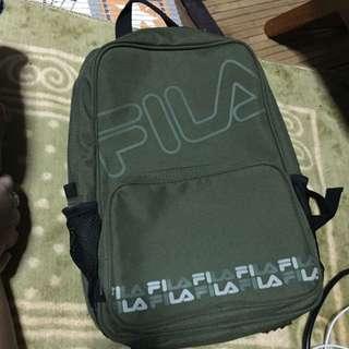 Green FILA Backpack