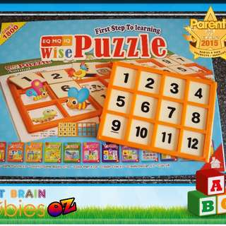 shichida Early Learning Education Wise Puzzle from Learning Age