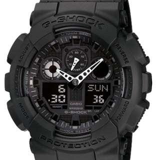 Casio XL Watch GA100 1A1 GA100-1A1 Original and Authentic with Box