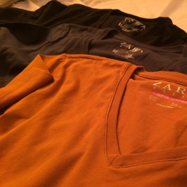 3 T-shirt Zara