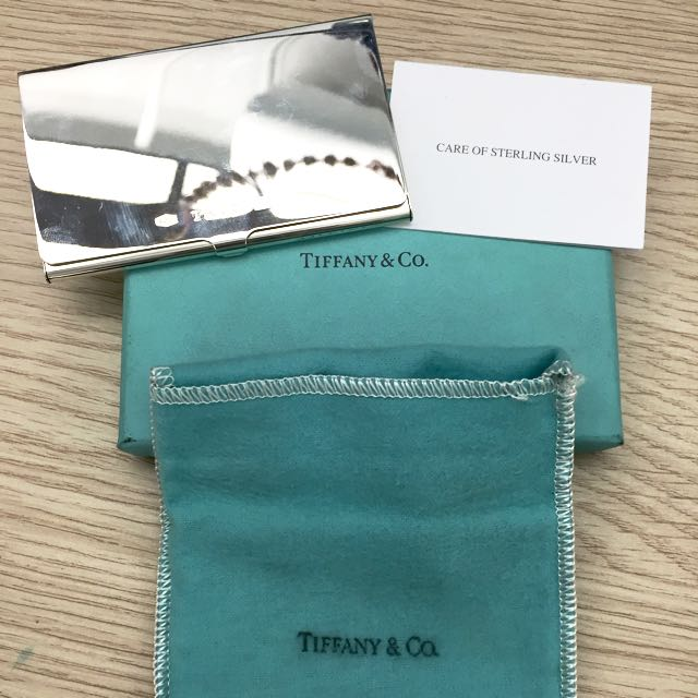 super popular d1b0d 8aa74 925 Sterling Silver Tiffany & Co Business Card Case