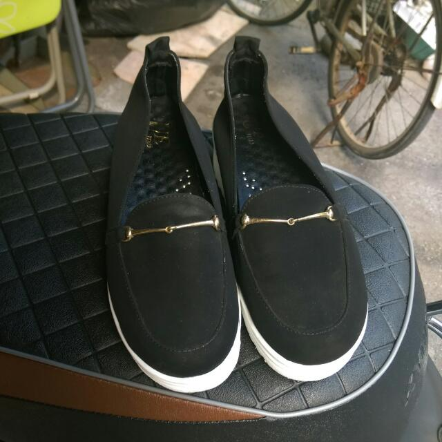 金鍊厚底鞋