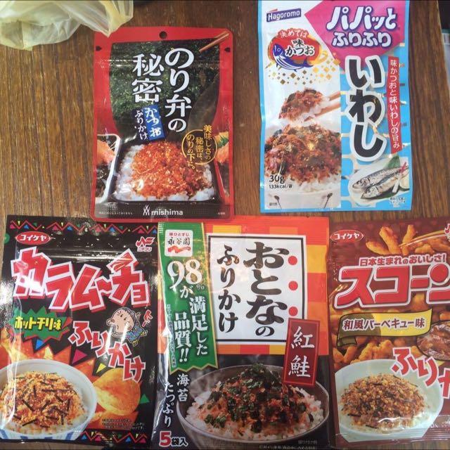 日本 香鬆 😋