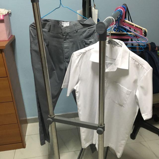 Ahmad Ibrahim Sec Sch(uniform Set & pe Set)