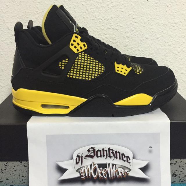 """Air Jordan 4 """"Thunder 2012"""" 9US"""