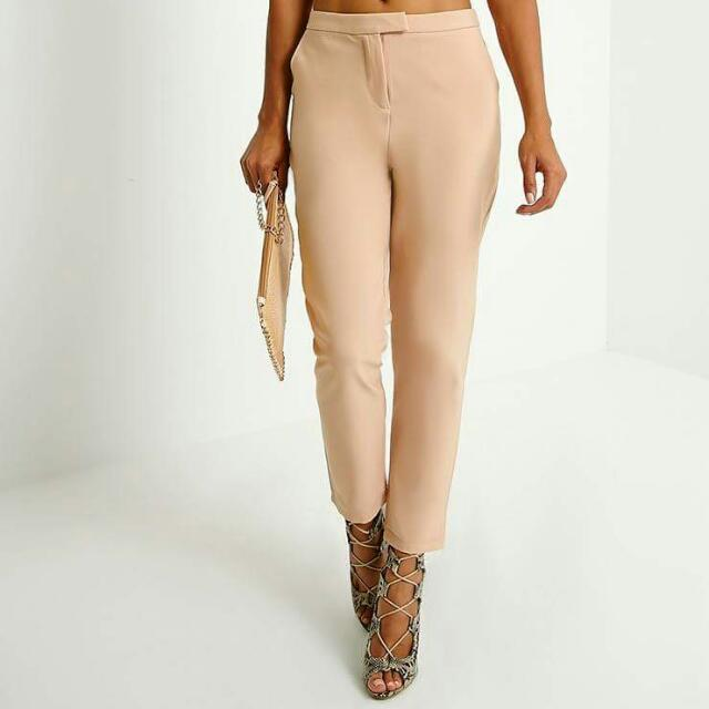 REDUCED Brand New Peachy Camel Cream Woven Pants