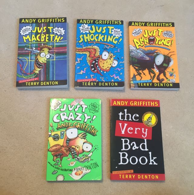 Andy Griffiths Books