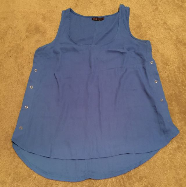 Blue Ally Top