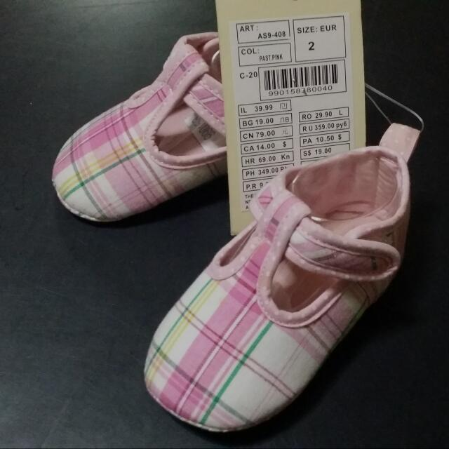 size 4 baby shoes in european