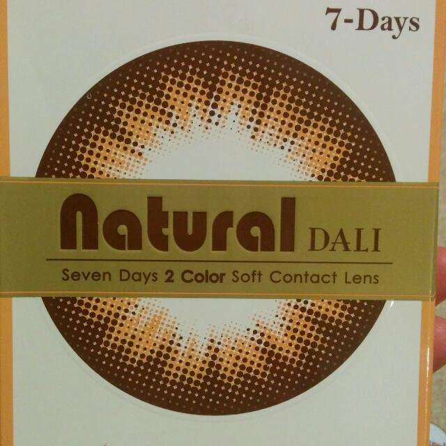 Brown 7day Bi-colour Contact Lenses (Korea)