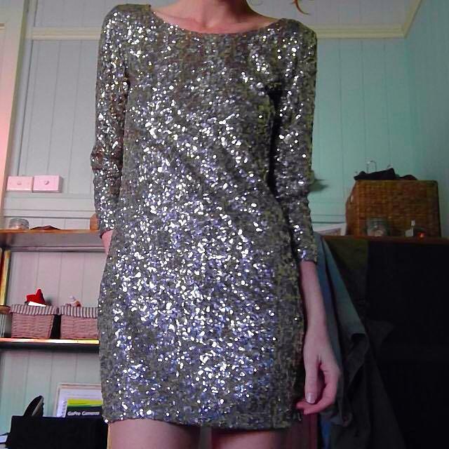 Cassette Society Sequin Dress