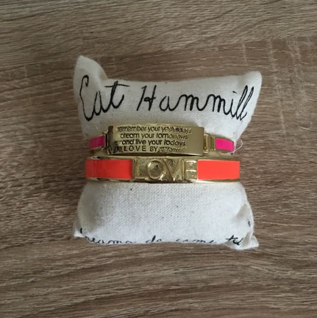 Cat Hammill Bracelets, Brand New Comes In Bag