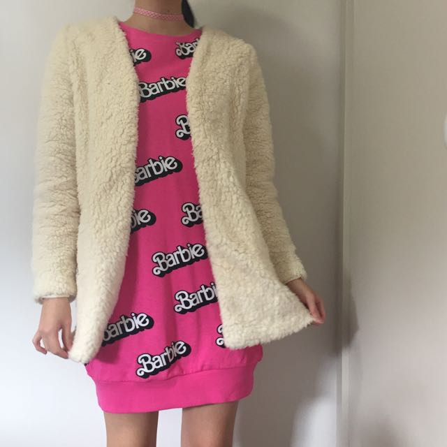 Cotton On Fluffy Coat
