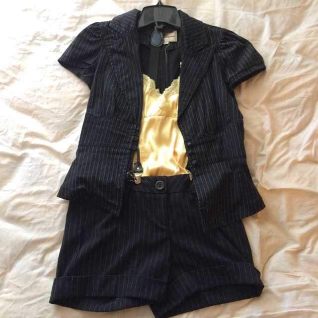 Cute Pinstripe Outfit