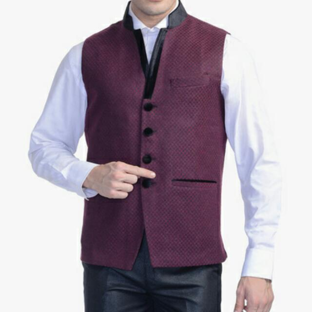 Custom Design Vest Coat Thicker Wool Fabric, Men's Fashion