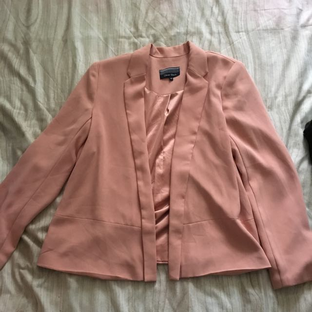 Dusty Pink Blazer