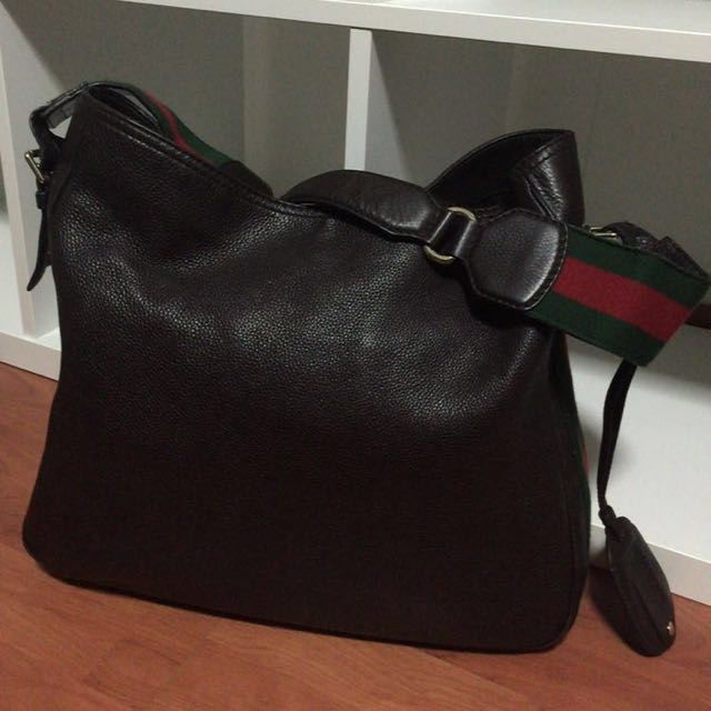 9881fcf811cf ✨✨Fast Deal $1200✨ Almost New Genuine Gucci Large Leather Tote ...