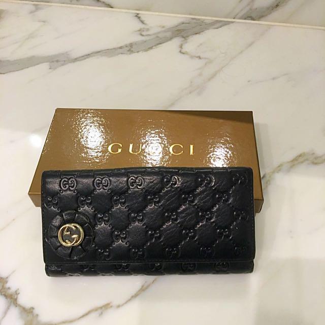 Gucci Fold Wallet Black